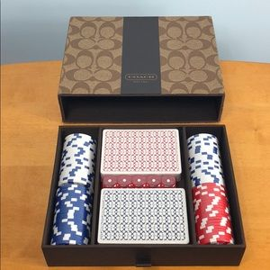 Coach Other - Coach 🖤 Poker Card, Chip and Dice Gambling Set 🎲